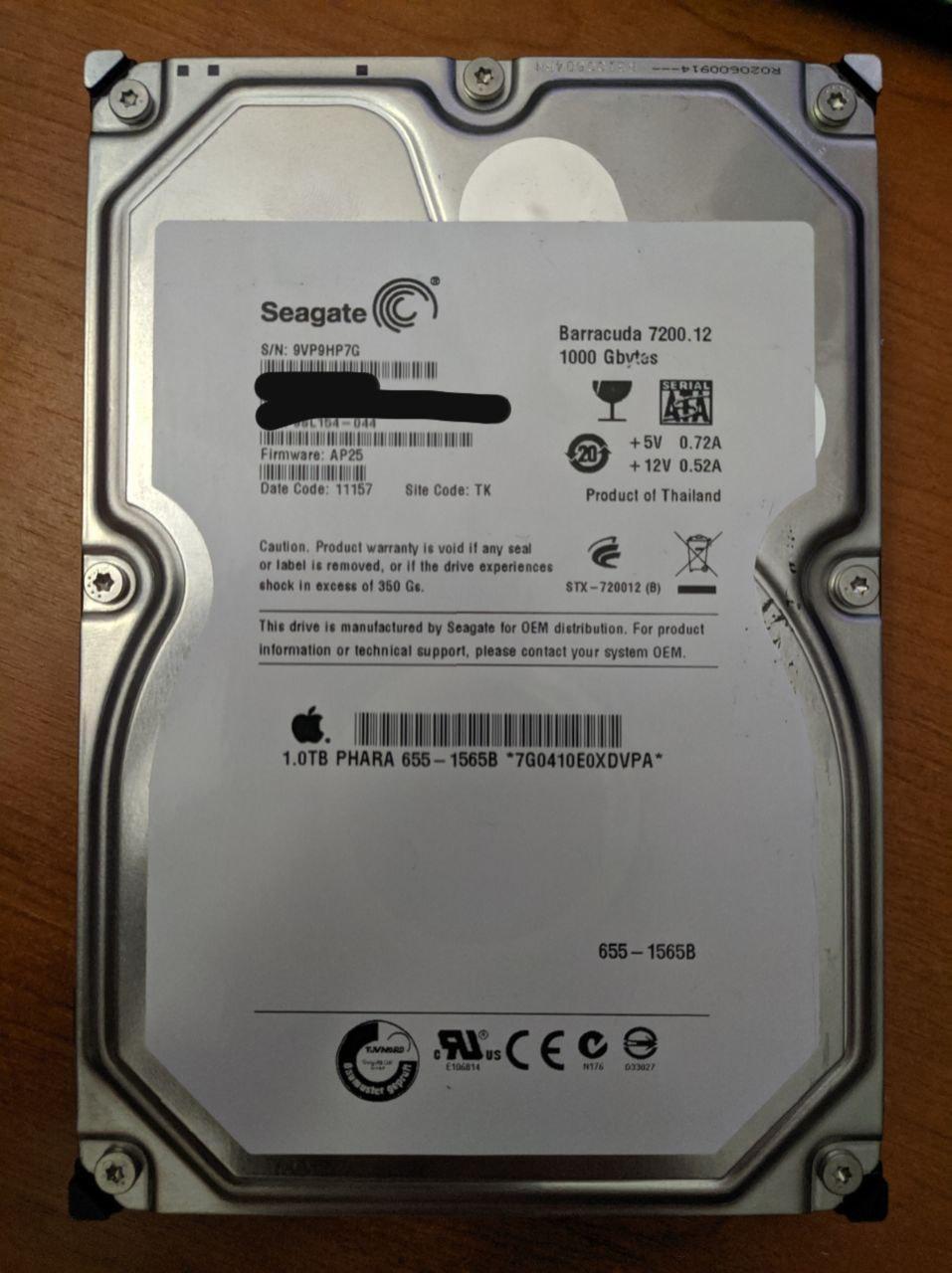 Actualizar firmware de disco Seagate a la fuerza desde Linux